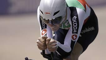 Stefan Küng gewann an der WM 2014 in Cali (Kol) Silber