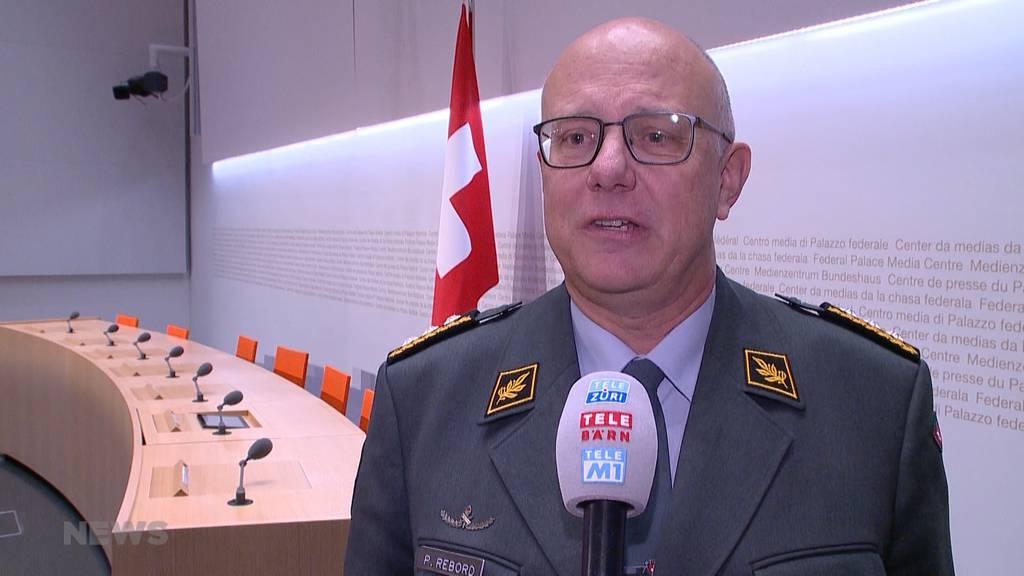 Armeechef Philippe Rebord tritt gesundheitsbedingt zurück