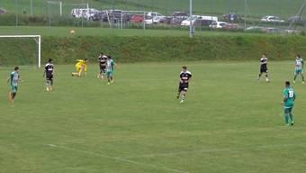 Es sah so gut aus – doch dann verpatzte dieses Eigentor in der 86. Minute dem FC Thayngen die Aufstiegschancen.