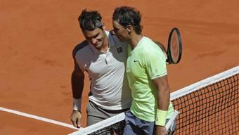 Roger Federer unterliegt Rafael Nadal im Halbfinal der French Open.