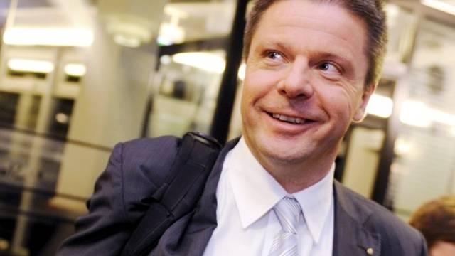 GLP-Präsident Martin Bäumle hat allen Grund zur Freude
