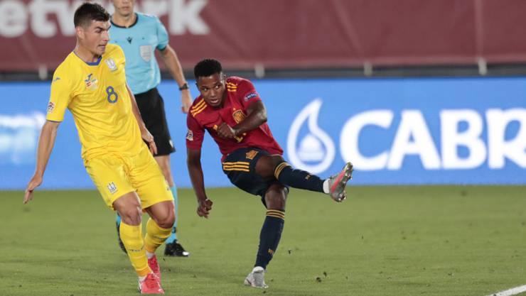 Ansu Fati traf erstmals für Spanien