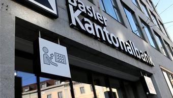 Hauptsitz der Basler Kantonalbank an der Spiegelgasse. Kenneth Nars