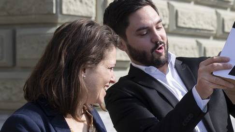 Mattea Meyer und Cédric Wermuth: Sie will die Arbeitszeit reduzieren, er autofreie Sonntage.