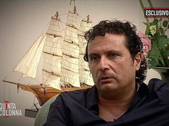 Interview mit dem Kapitän der Costa Concordia
