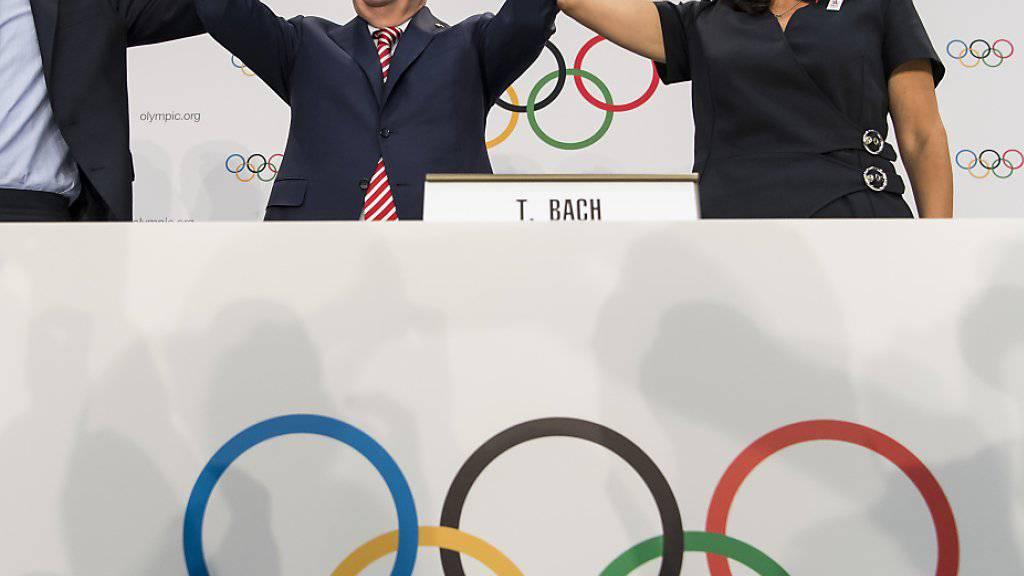 Die Olympischen Spiele 2024 und 2028 werden wohl von Paris beziehungsweise Los Angeles ausgerichtet