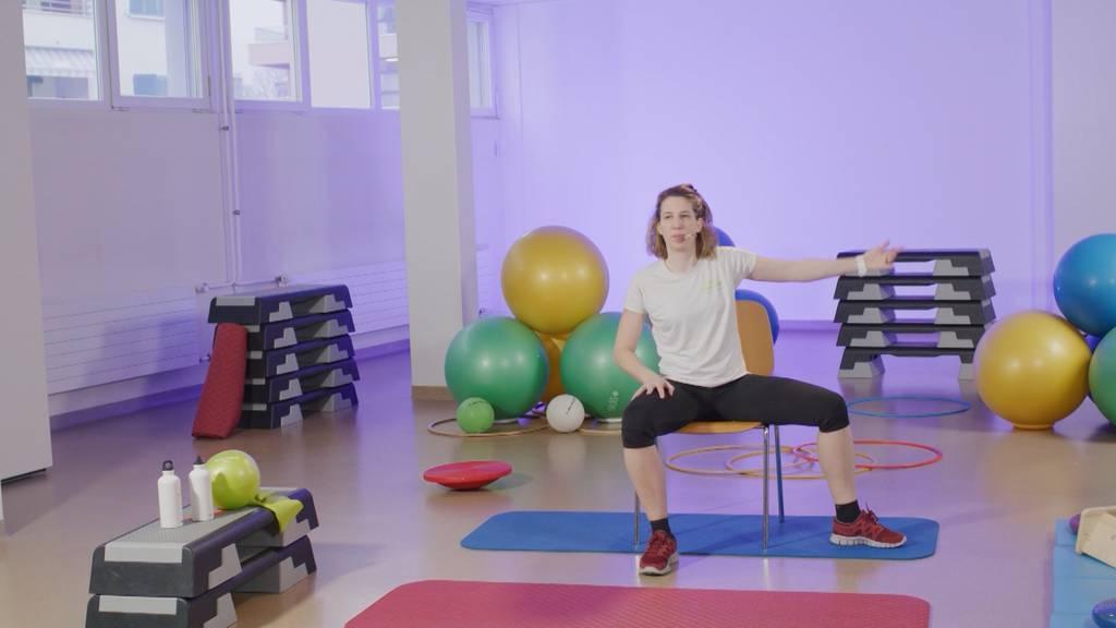 «Gymnastik im Wohnzimmer» vom 1. Oktober 2021