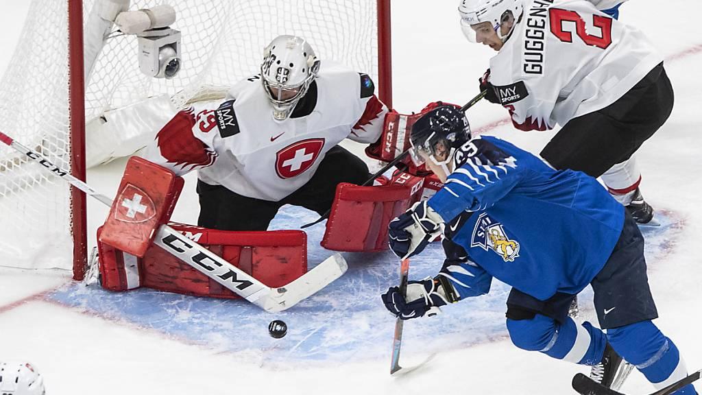 Finnland für die Schweizer Junioren zu stark