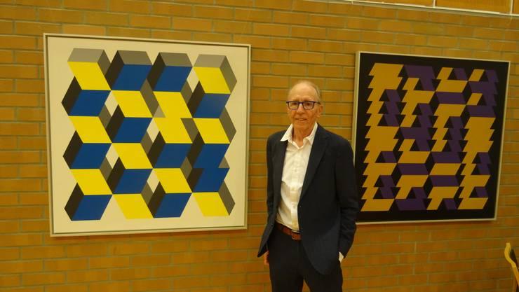 René Gubelmanns Ausstellung ist eine Gesamtschau über die jahrzehntelange Arbeit des Aushängeschilds der Dietiker Kunstszene.