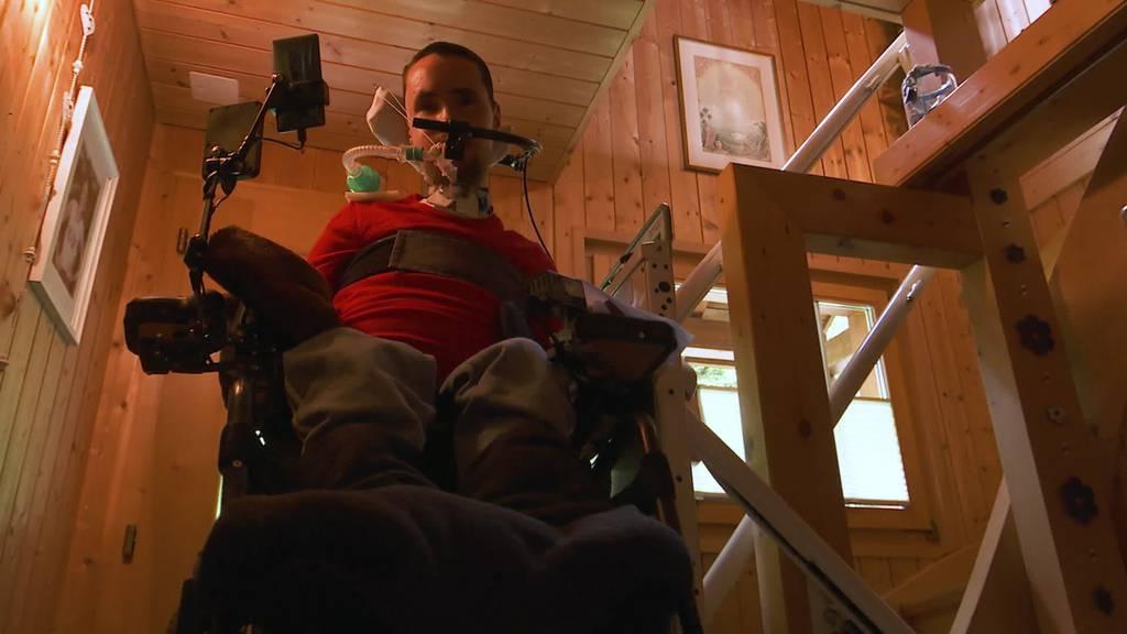 Wegen Muskelkrankheit: Ueli Beck braucht neuen Handicap-Lift