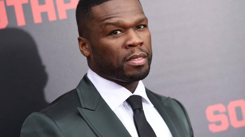Hat er etwa doch noch ein Pölsterchen? Immerhin lebt 50 Cent ziemlich gut für einen insolventen Rapper. (Archiv)