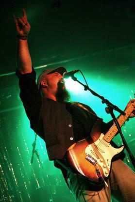 Die Hardcore Bluesband begeisterten das Publikum. (Fotos: Yvonne Kuhn)