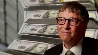 Er ist und bleibt der reichste Mann der Welt: Microsoft-Mitbegründer Bill Gates.