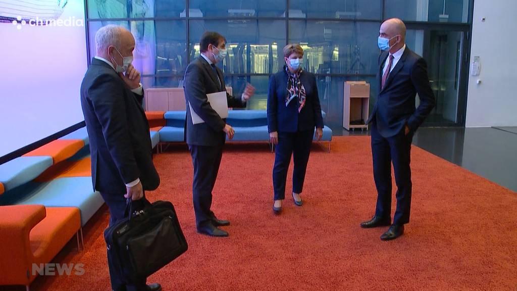 Medienkonferenz des Bundesrats: Neue Hilfspakete für Sport und Wirtschaft