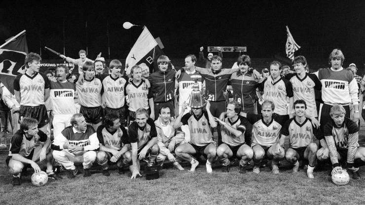 1986 wurde YB zum letzten Mal Schweizer Meister.