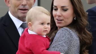 Ihn wollen alle vor die Linse bekommen: Prinz George (Archiv)