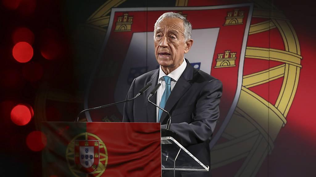 Prognosen: Portugals Präsident Rebelo de Sousa wiedergewählt