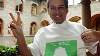 Brenno Martignoni nach der Wahl im Jahr 2008 (Archiv)
