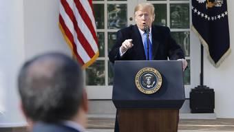 «Die Alternative ist keine gute, indem wir gezwungen wären, sie freizulassen», twitterte Trump.