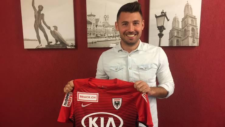 Frontino wechselt zum FC Aarau.