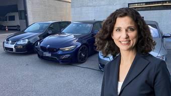 Die Aargauer SP-Präsidentin Gabriela Suter fordert ein Mindestalter von 25 Jahren für den Besitz PS-starker Autos.