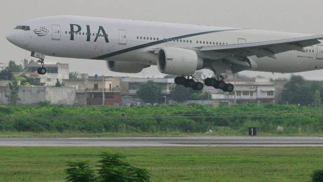 Flugzeug der Airline Pakistani International PIA (Symbolbild)