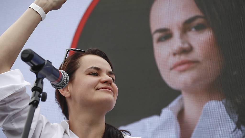 Präsidentenkandidatin in Belarus: «Wir wollen keinen Krieg»