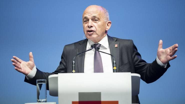 Bundespräsident Ueli Maurer am Tag der  Wirtschaft 2019.