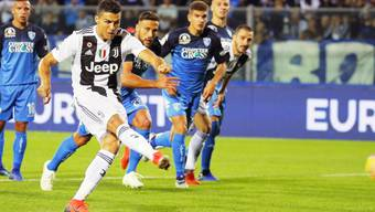 Cristiano Ronaldo führt Juventus mit einer Doublette gegen Aufsteiger Empoli zum Sieg