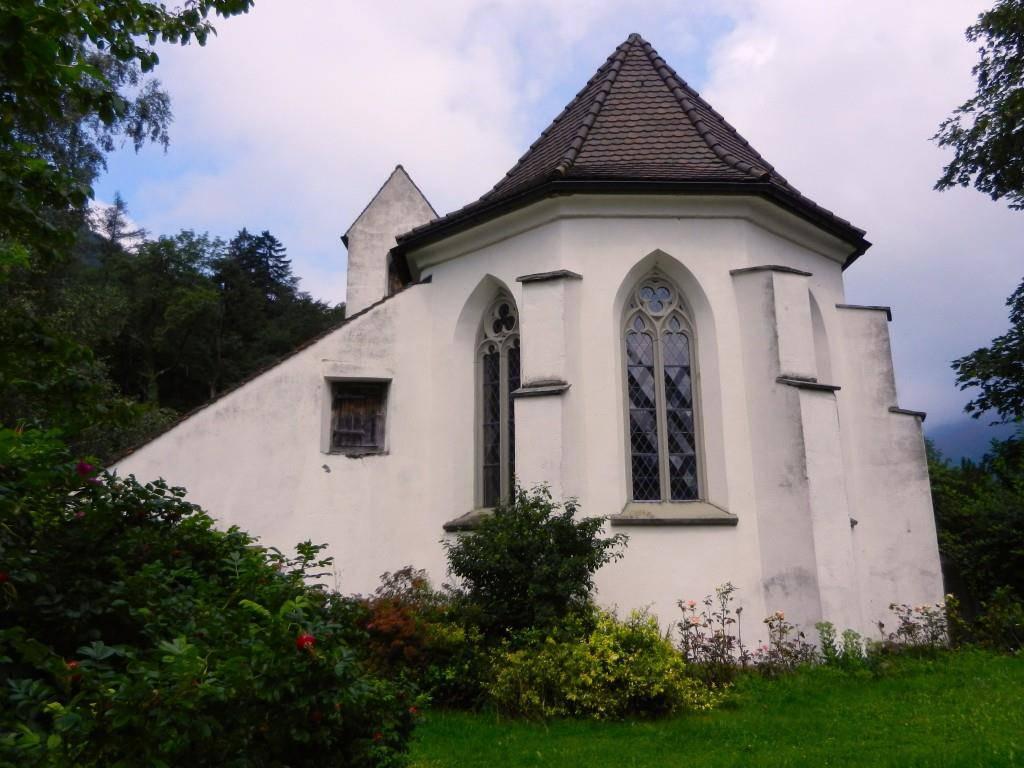 Kirche St.Luzisteig (© Keystone)