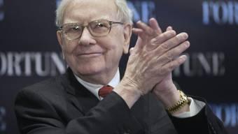 Er hat gut lachen: Warren Buffett (Archiv)