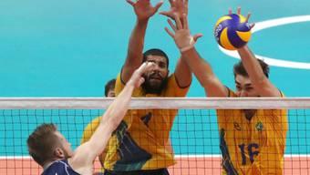 Unüberwindbarer Block: Brasilien holte sich gegen Italien Olympiagold