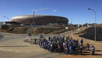 Arbeiterstreiks in Südafrika