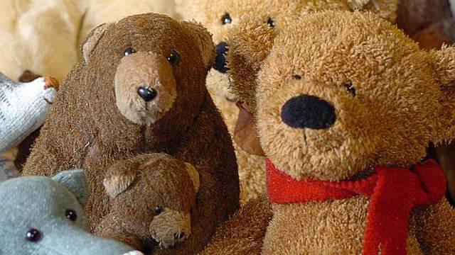 Der gute alte Teddybär hat als Kinderspielzeug noch nicht ausgedient
