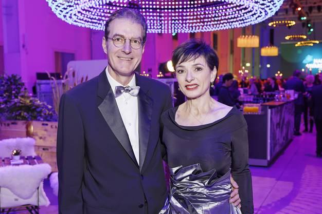 Marianne Binder, CVP-Nationalrätin und Ehemann Andreas Binder, Vizepräsident des Verwaltungsrates NAB.