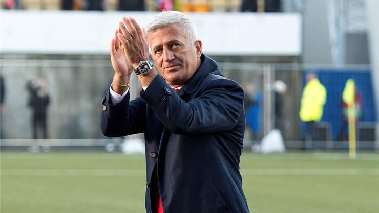 Vladimir Petkovic wird mit einer vorzeitigen Vertragsverlängerung belohnt.Keystone