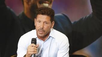 Atleticos Trainer Diego Simeone muss bis 2018 auf Neuzugänge verzichten