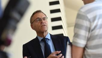 Sein Abgang soll den Druck mindern: Gerhard Lips ist nicht mehr Basler Polizeikommandand.