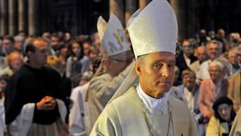 Kurienerzbischof Georg Gänswein (hier im Freiburger Münster) ist Ehrengast des diesjährigen Fridolinsfestes.