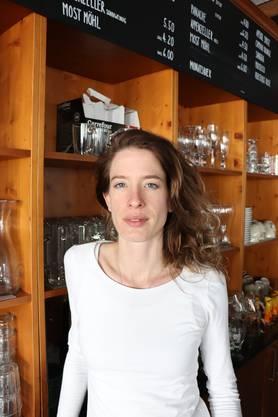 Danielle Arteaga, Wirtin im «Rebstock»: «Ich kann mir vorstellen, künftig Kochunterricht zu geben.»