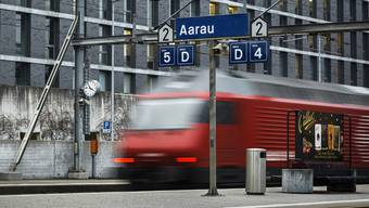 Auf der hintere Bahnhofstrasse in Aarau begann die Geschichte. (Symbolbild)