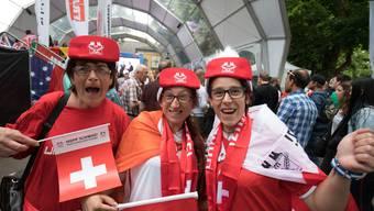 Schweiz-Brasilien: Das Public Viewing in der Oltner Schützi