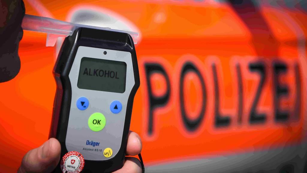 Polizei musste in einer Nacht sieben Führerscheine entziehen
