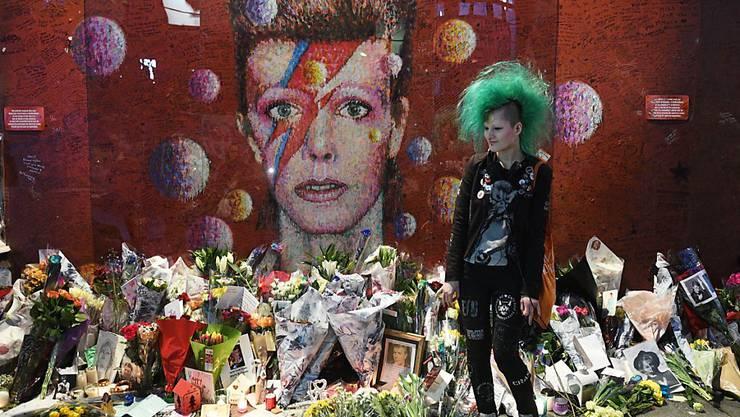 Der 2016 verstorbene britische Musiker David Bowie wäre in diesem Januar 71 Jahre alt geworden.