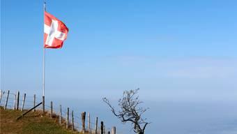 Wie viele Menschen verträgt die Schweiz? Blick von der Rigi an einem schönen Oktobertag.
