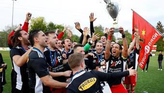 Eines der Saisonziele: Die Klingnauer wollen ihren Cupsieg von vergangenem Jahr wiederholen. André Albrecht
