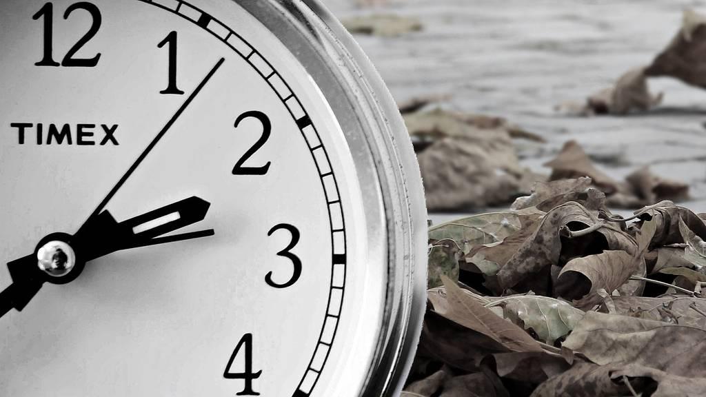 Die Zeitumstellung tickt noch für einige Zeit