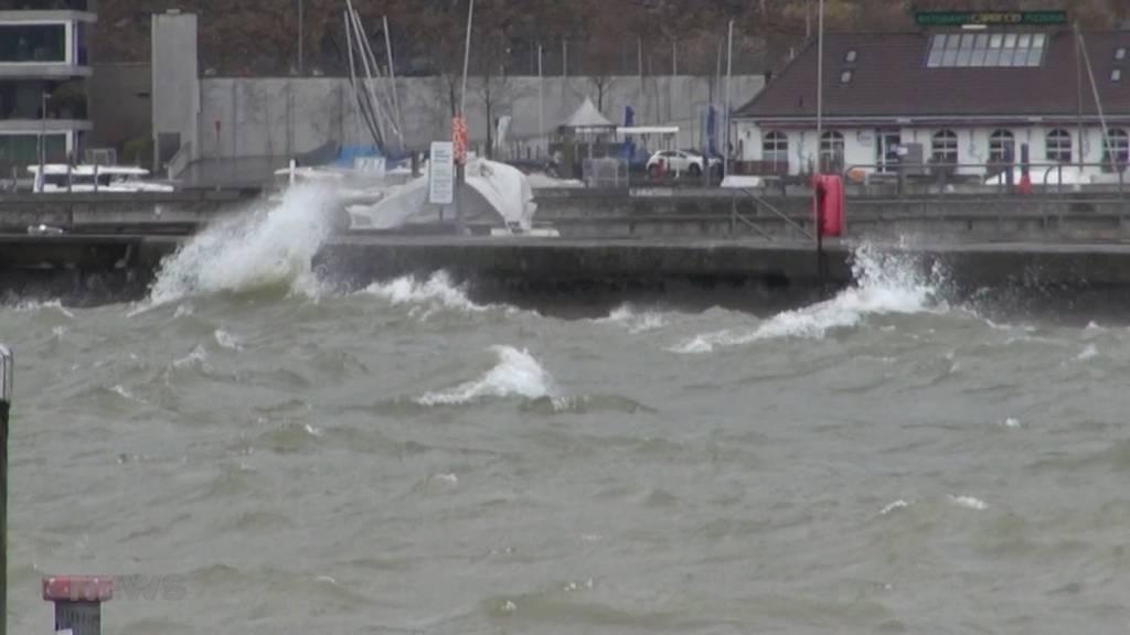 Erster Sturm des Jahres: Orkanartige Windböen mit Geschwindigkeiten bis zu 100 km/h
