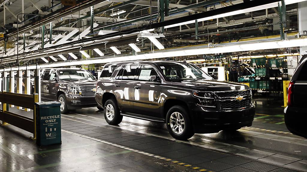 US-Autoriese GM steigert Gewinn trotz Chipmangels kräftig
