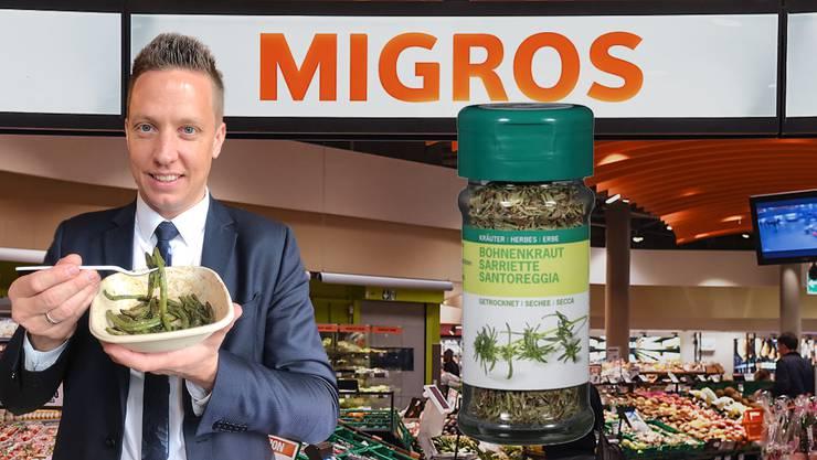 Christian Imark hat die Migros dazu gebracht, Bohnenkraut wieder ins Sortiment aufzunehmen.